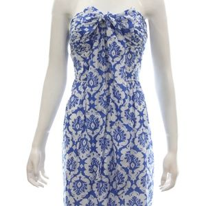 LAUNDRY FLORAL TUBE DRESS SIZE 8 NWT